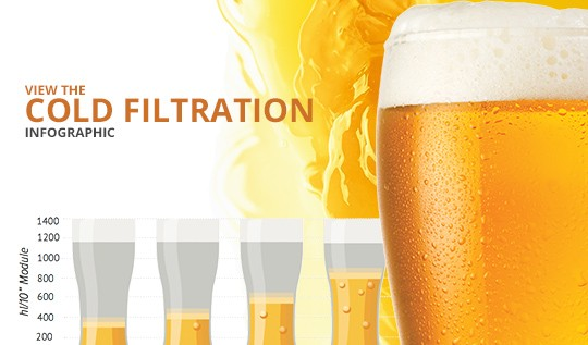 cold filtration infographic