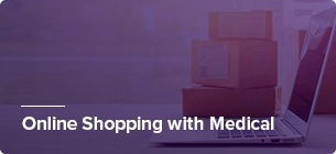 online shopping with medical
